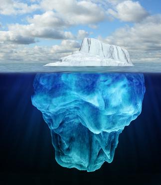 Inconscient, la partie immergée d'un iceberg